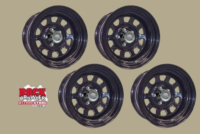 Series 51 Black Spoke Wheels